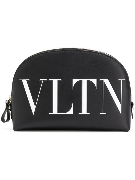 Valentino Garavani VLTN makeup bag in black