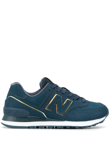New Balance 574 low-top sneakers in blue