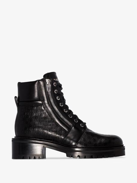 Balmain black Ranger ankle boots