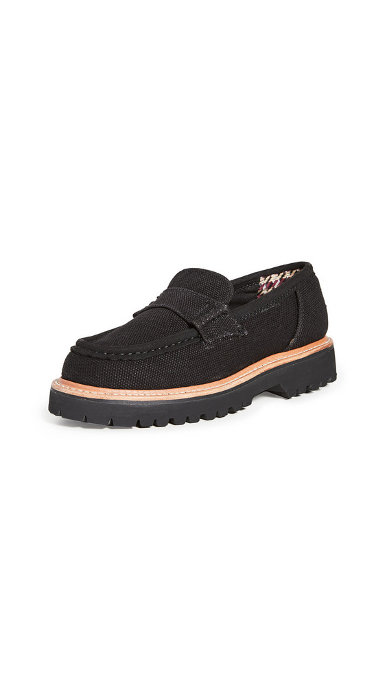 Good News Beam Loafers in black
