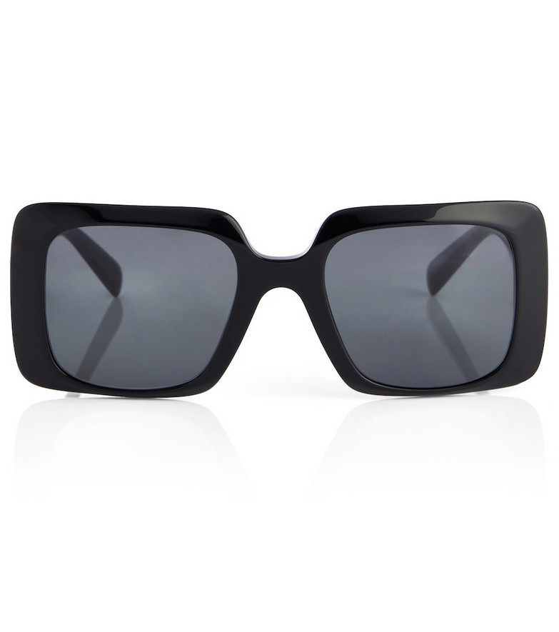 Versace Square acetate sunglasses in black