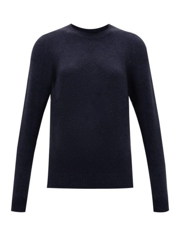 A.P.C. A.p.c. - Wendy Wool Blend Sweater - Womens - Navy