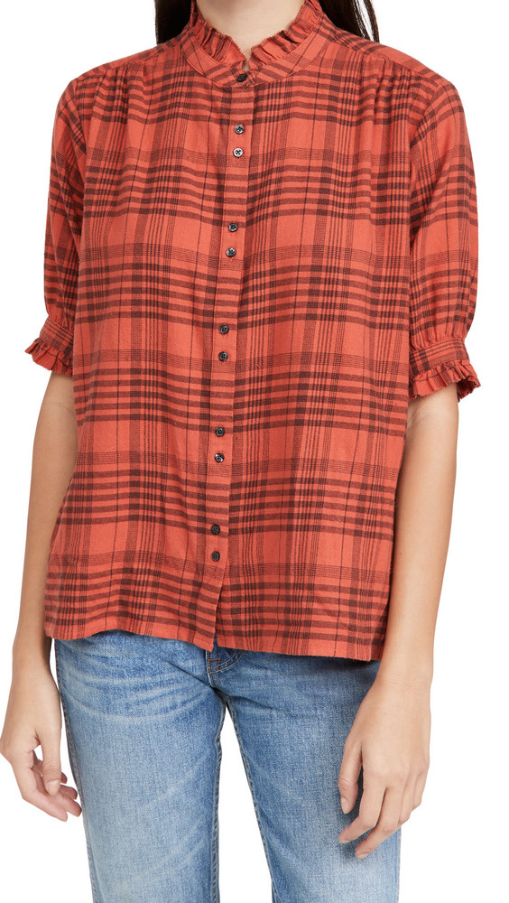 THE GREAT. THE GREAT. The Cedar Top in red