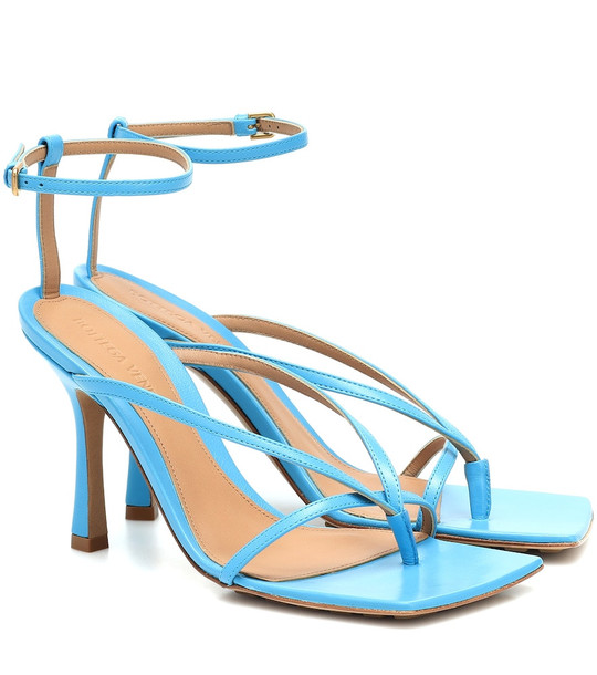 Bottega Veneta Stretch leather sandals in blue