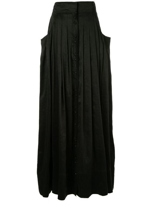 Aje pleated full skirt in black