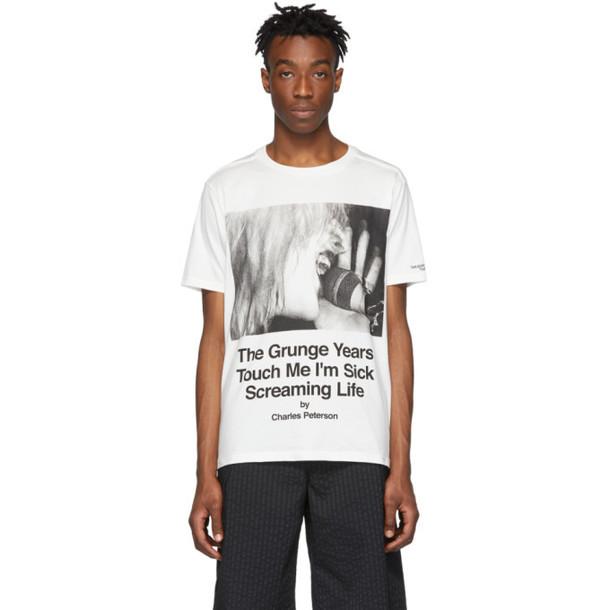 TAKAHIROMIYASHITA TheSoloist. TAKAHIROMIYASHITA TheSoloist. White Charles Peterson Edition Courtney T-Shirt
