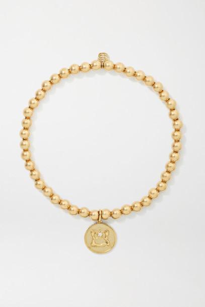 Sydney Evan - Gemini 14-karat Gold Diamond Bracelet