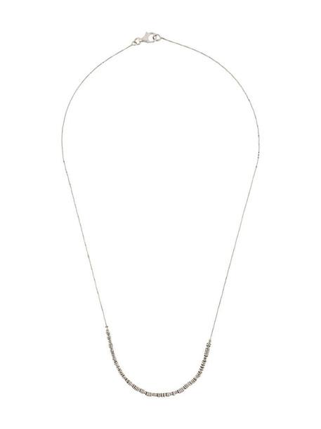 Bottega Veneta ring detail necklace in silver