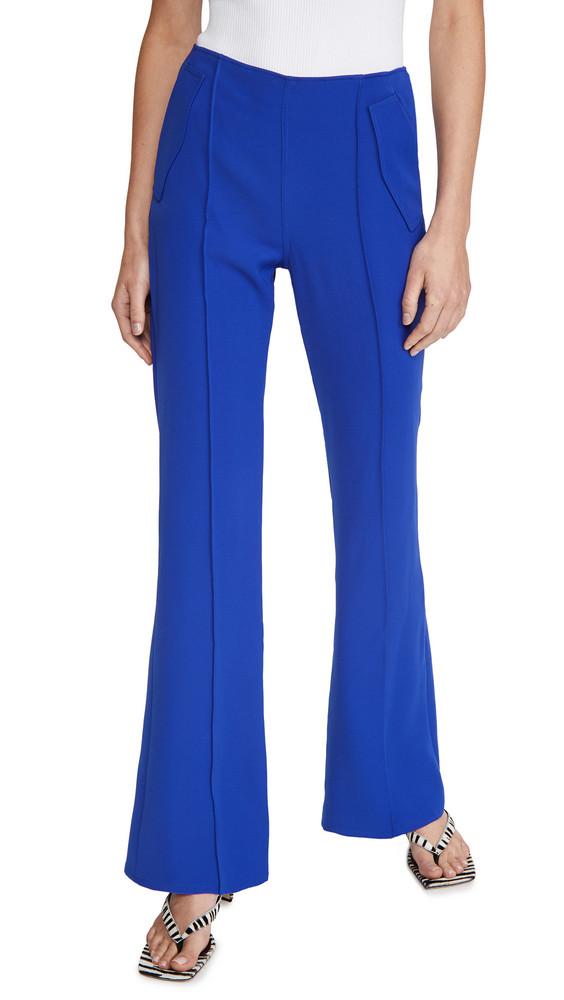 Adeam Bootleg Pants in blue