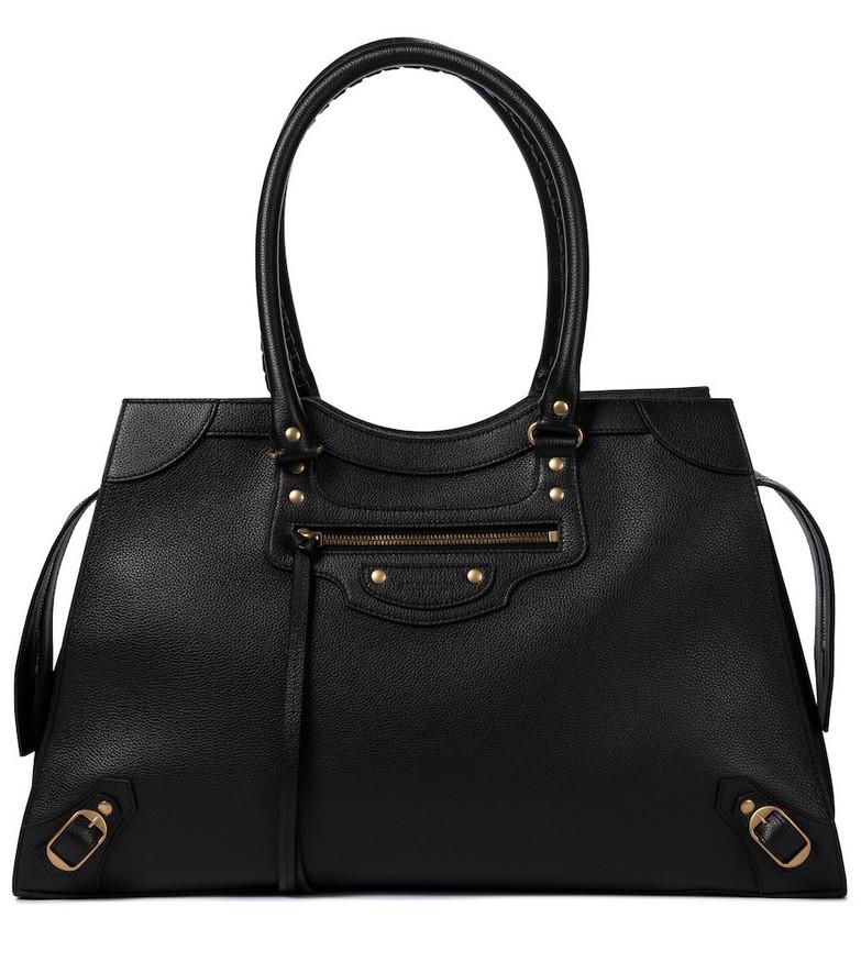 Balenciaga Neo Classic City Large leather tote in black