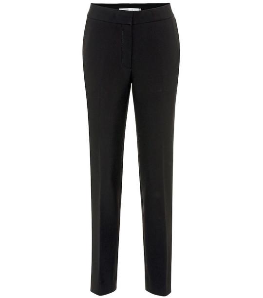 Victoria Victoria Beckham High-rise slim pants in black