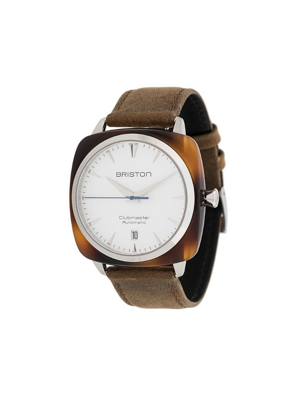 Briston Watches Clubmaster Iconic 40mm watch in white