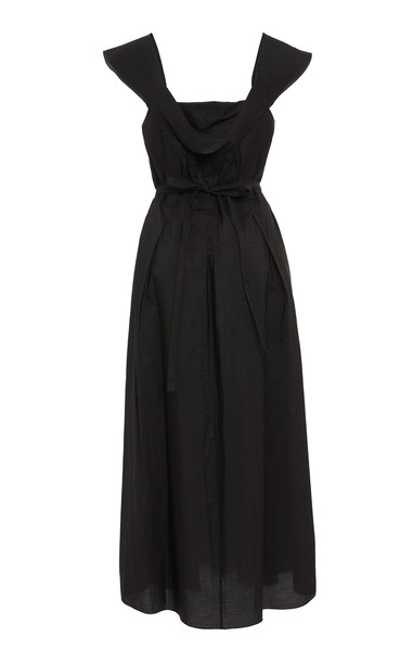 Brock Collection Exclusive Oliviera Off-The-Shoulder Dress in black