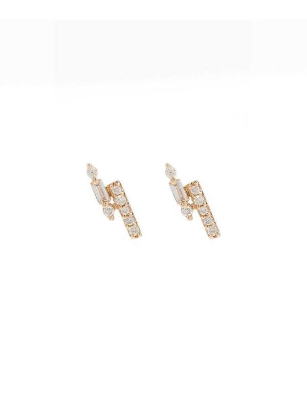 Dana Rebecca Designs 14kt yellow gold diamond earrings