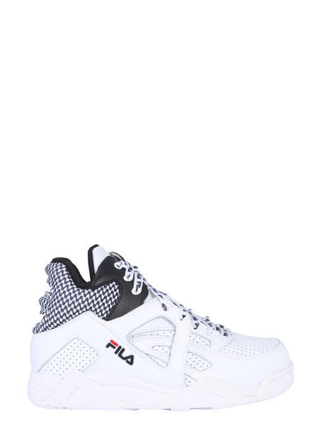 Fila Cage Cb Mid Sneakers in bianco