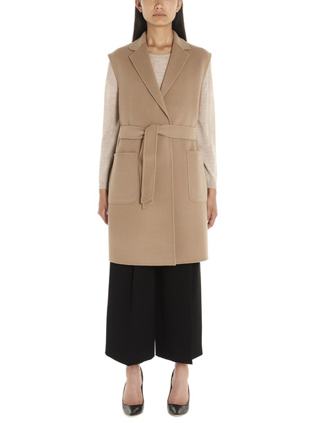 Weekend Max Mara flash Vest in beige