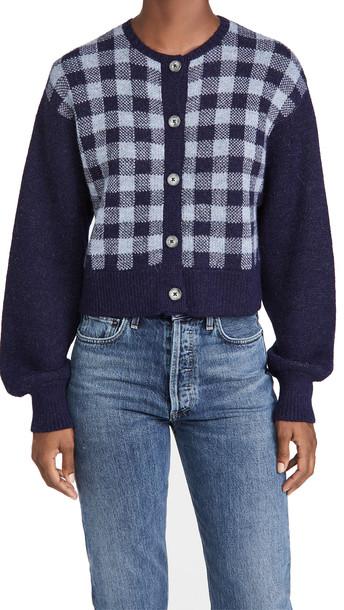 Ciao Lucia Varese Alpaca Sweater in blue