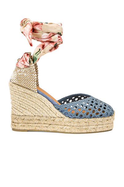 Castaner Camila Wedge in blue