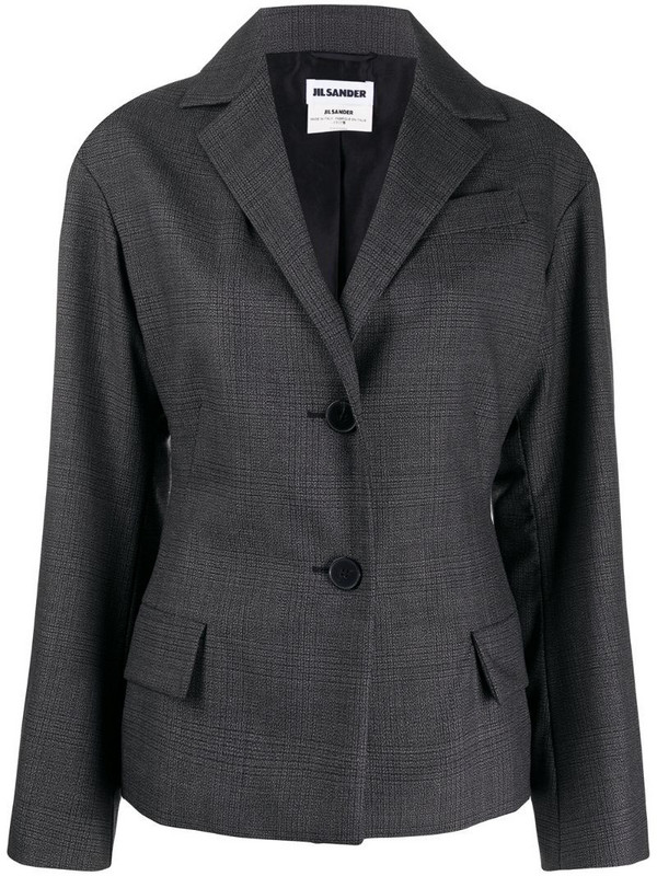 Jil Sander Pre-Owned 2000s single-breasted blazer in grey