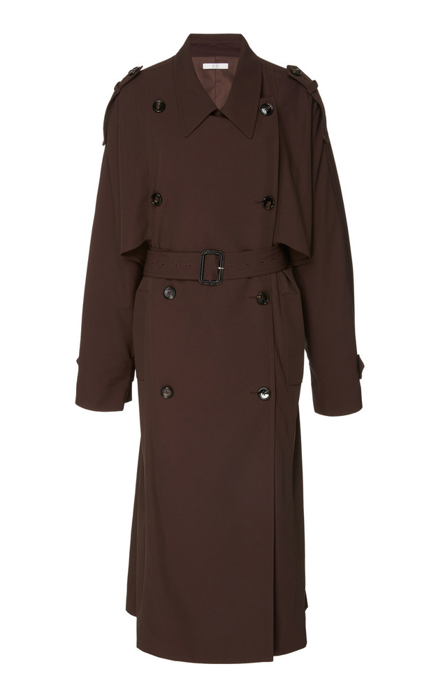 Co Belted Trench Coat in brown