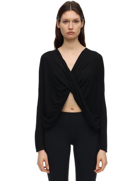 PRANA Narcisso Tencel Sweater in black