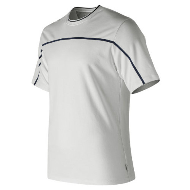 New Balance 91523 Men's NB Athletics Select Tee - White (MT91523WT)
