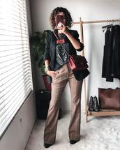 alterations needed,blogger,jacket,t-shirt,pants,bag,shoes,jewels