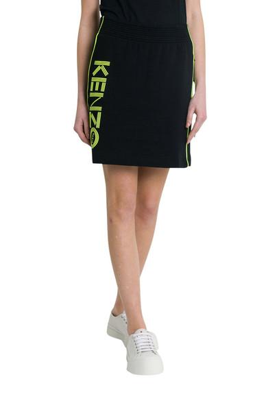 Kenzo Logo Skirt in nero