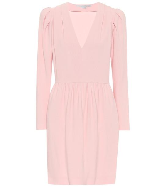Stella McCartney Cady minidress in pink