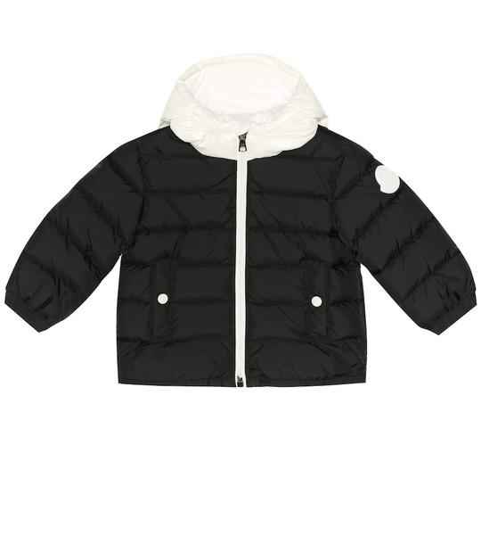 Moncler Enfant Baby Lourmarin puffer coat in black