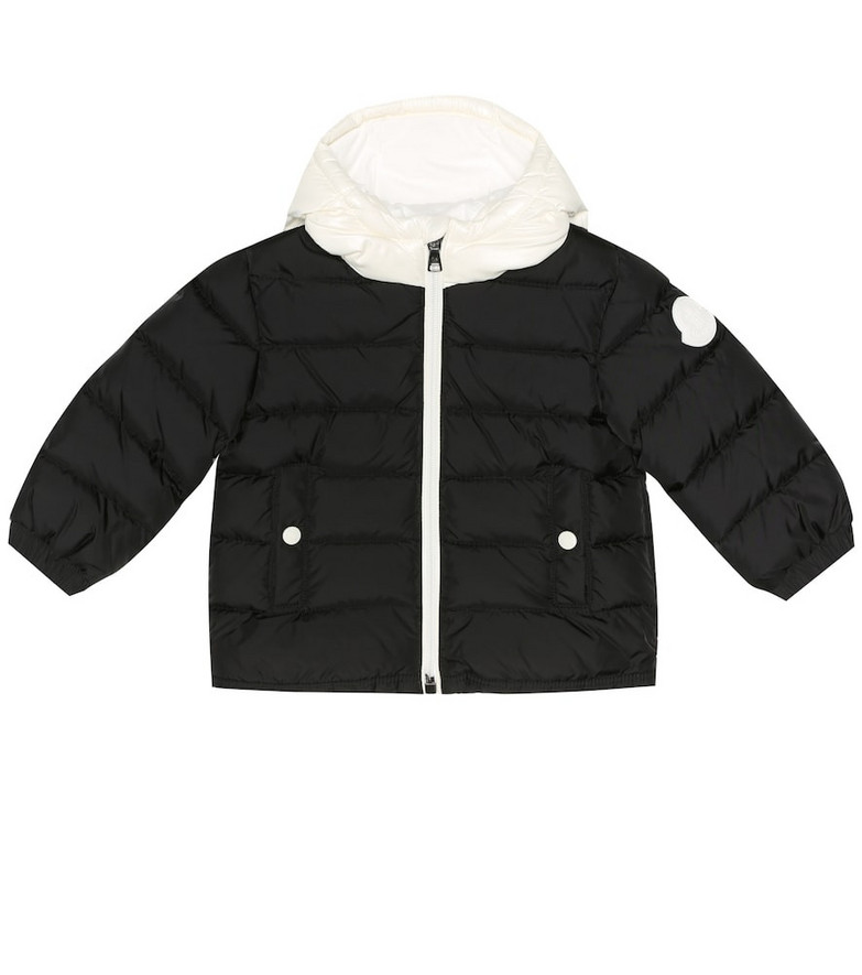 Moncler Enfant Baby Lourmarin puffer coat in black