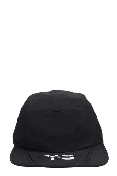 Y-3 Black Nylon Hat