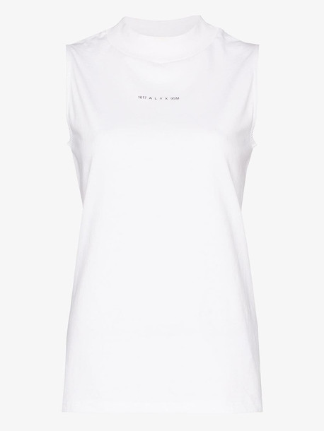 1017 ALYX 9SM sleeveless cotton top in white