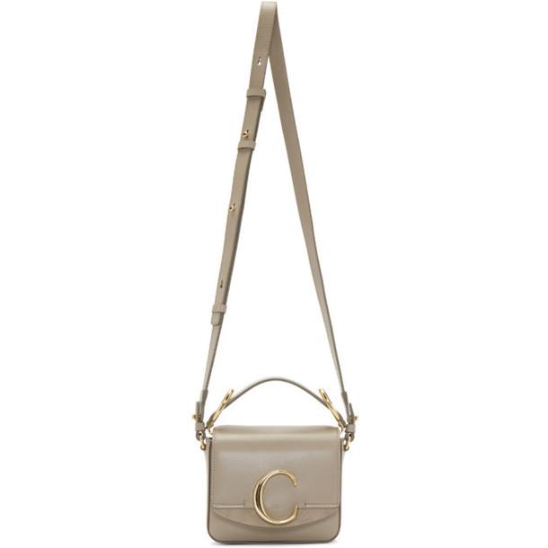 Chloé Chloé Grey Mini 'Chloé C' Bag