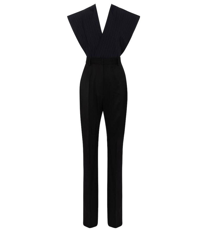 MM6 Maison Margiela Twill jumpsuit in black