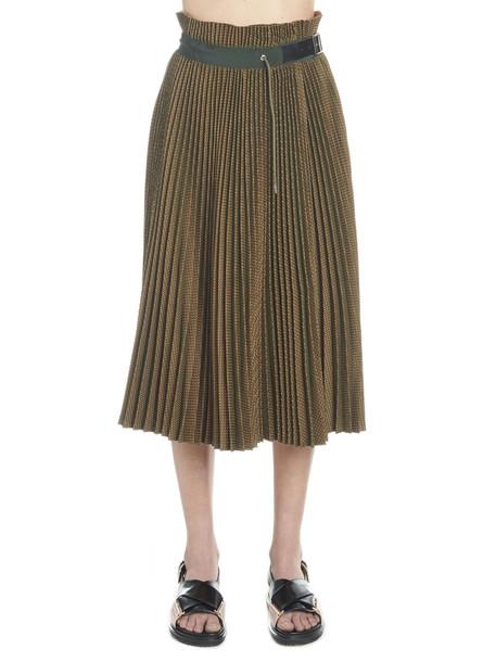 Sacai Skirt in brown
