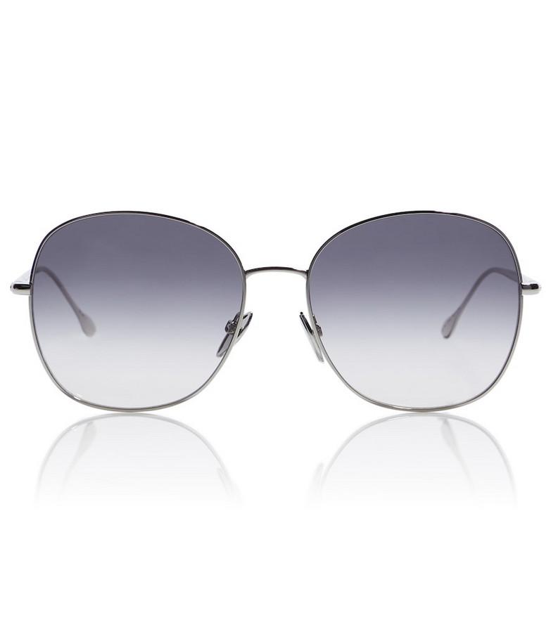 Isabel Marant Oversized round sunglasses in grey
