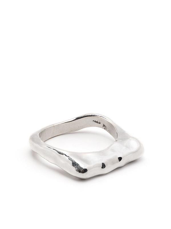 Rosa Maria silver-tone ring