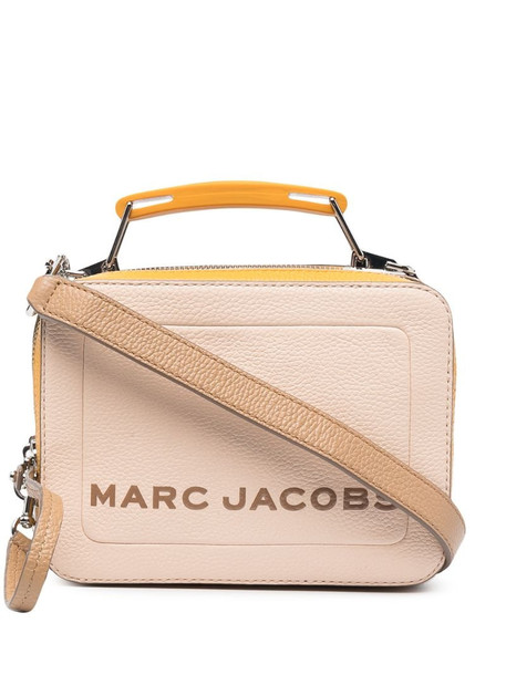 Marc Jacobs Softbox logo-print tote bag in pink