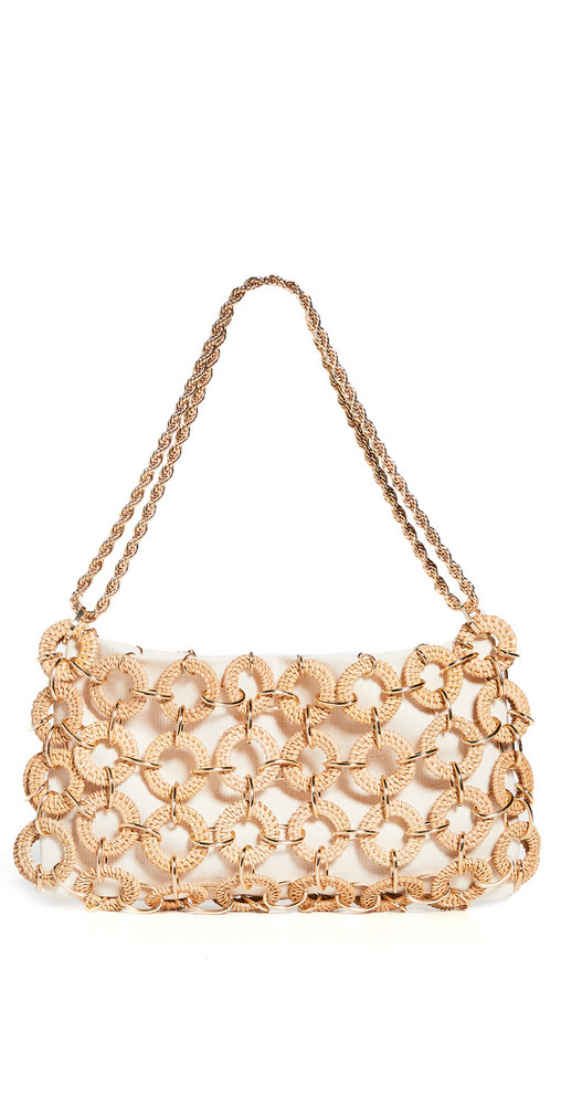 Cult Gaia Angela Shoulder Bag in natural