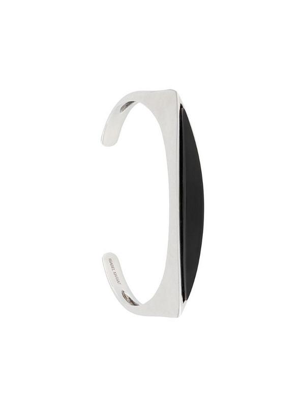 Isabel Marant open cuff bracelet in silver