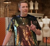 top,joe lycett,mermaid,great british sewing bee,sequins,sequin top