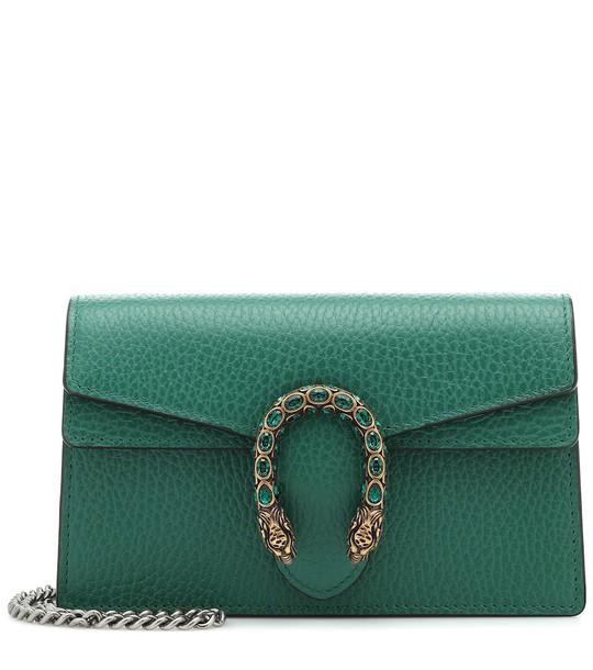 Gucci Dionysus Super Mini shoulder bag in green