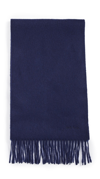 Paul Smith Cashmere Scarf in navy