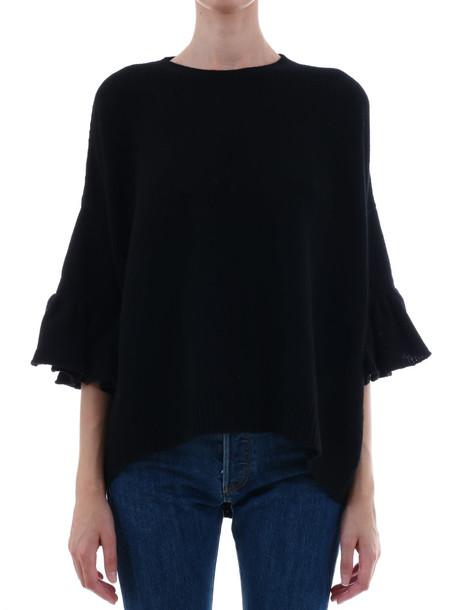 Valentino Sweater Wool Cashemire in black