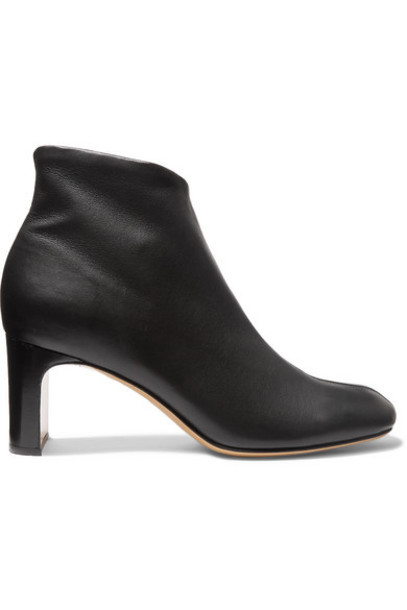 rag & bone - Ellis Leather Ankle Boots - Black