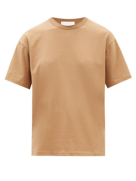 A.P.C. A.P.C. - X Suzanne Koller Alma Cotton-jersey T-shirt - Womens - Camel