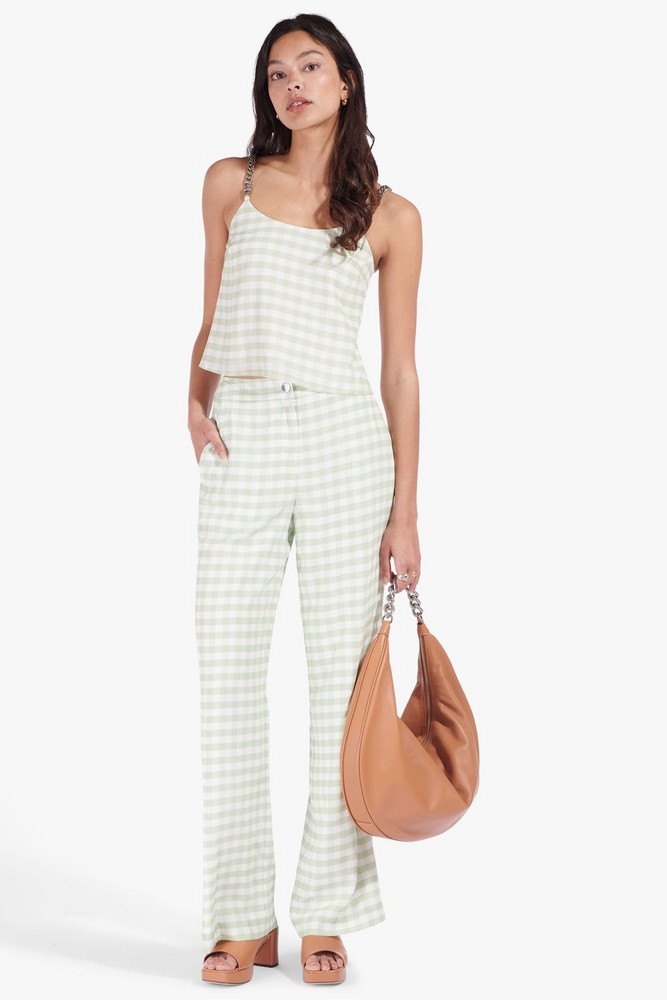 Staud COSTELLO PANT | AGAVE