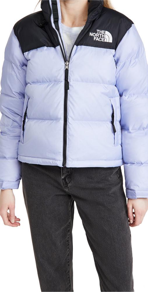 The North Face 1996 Retro Nuptse Jacket in lavender