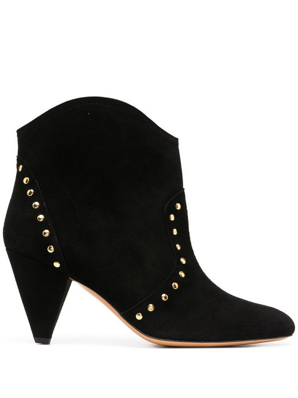 Tila March Maple studded ankle boots in black